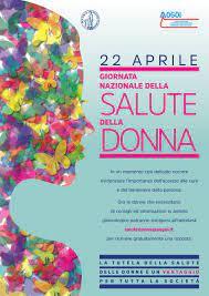 Il 22 Aprile è la Giornata nazionale della salute della donna