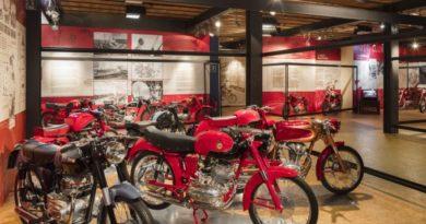 Moto bolognesi  del 1950-1960 al Museo del Patrimonio